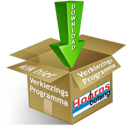 Download verkiezings programma Hoorns Belang